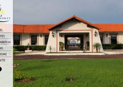 Imagen del sitio web del hotel Noray Nautla, Veracruz - JuCri WebDesign Mexico